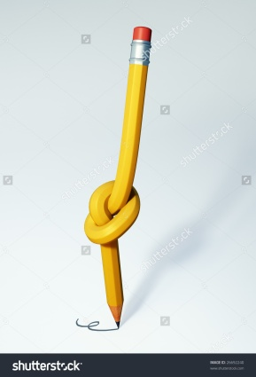 stock-photo-knotted-pencil-26692240