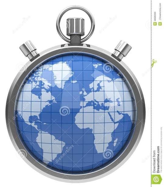 world-stopwatch-d-generated-picture-globe-46580293